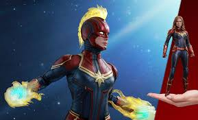 <b>Captain Marvel</b> Figure by <b>Hot</b> Toys | Sideshow Collectibles