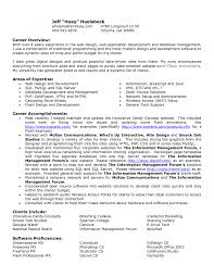 cover letter resume career overview example resume career cover letter cover letter template for resume career overview example sample company profile xresume career overview