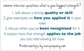common interview questions what is your greatest strength the how