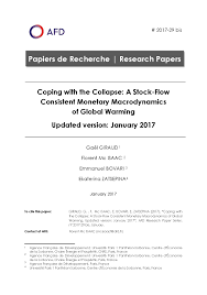 research paper no bis coping the collapse a stock flow research paper no 29 bis coping the collapse a stock flow consistent monetary macrodynamics of global warming updated version 2017