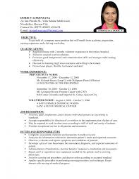 nursing resume objective statement winning cv templates best rn resume objective evaluation request letter sample graduate