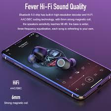 <b>TWS Wireless Headphones</b> Bluetooth 5.0 Earphones <b>Waterproof</b> ...