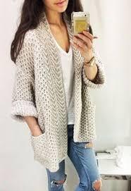 Объемный жилет спицами | <b>Вязание</b> спицами | Crochet jacket ...