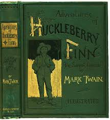 c and c huck finn ethan frome writework the cover of the first edition of adventures of huckleberry finn 1884
