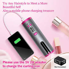 HAUEA <b>Cordless Hair Curler</b> Automatic Cur- Buy Online in Israel at ...