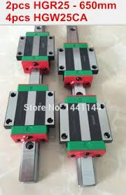 <b>2pcs HIWIN Linear Guide</b> Rail HGR20- 900mm/ 700mm /400mm + ...