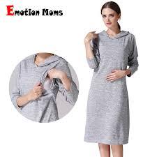 Emotion Moms Long Sleeve pregnancy Maternity <b>Clothes</b> Nursing ...