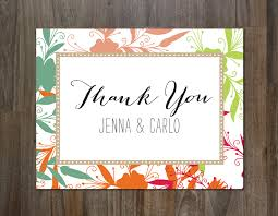 the best thank you cards template designs colorful thank you card no 2