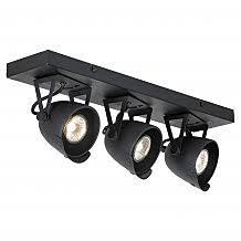 <b>Споты</b> с тремя лампами. Интернет магазин «Маркет-Света»