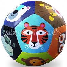 Мяч мягкий Животные 10 см <b>Crocodile</b> Creek — купить в Москве в ...
