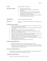 teacher job description for resume teacher job description for resume 5824