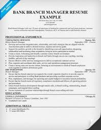 resume objective examples branch manager executiveresumesample com resume examples objective