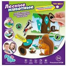 <b>Настольная игра Pic'n Mix</b> Лесные животные — купить по ...