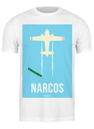 Футболка классическая Наркос / Narcos #2437621 от kino.<b>printio</b> ...