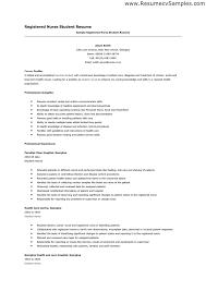 nursing resume list   sales   nursing   lewesmrsample resume  resume template sle career profile and