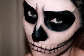 easy skull makeup misscharlotte
