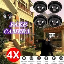 Wireless Dummy Fake Security Camera <b>Surveillance Hemisphere</b> ...