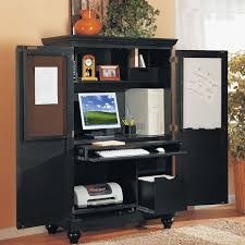 image of used computer armoire armoire office desk