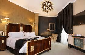 elegant art deco bedroom designs with unique chandelier and antique art deco bedroom furniture
