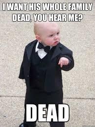 Memes Vault Evil Baby Memes via Relatably.com