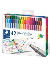 Капиллярные <b>ручки</b> Triplus Fineliner, 0.3 мм, 42 цвета, <b>STAEDTLER</b>