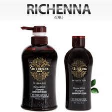 [<b>Richenna</b>] KOREA <b>GOLD Henna CLINIC</b> Hairloss Scalp Shampoo ...