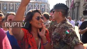 <b>Italy</b>: 'Fuck you Salvini!' – Matteo Salvini met with angry scenes in ...