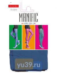 <b>Колготки Manific</b> Microfiber <b>женские</b>, 70 DEN (синий), размер 4 ...