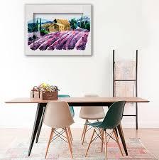 <b>Картина с Арт рамой</b> «Лавандовое поле» - купить в интернет ...