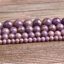 <b>LanLi fashion natural</b> Jewelry Ziyun mother stone Loose beads <b>6/8</b> ...