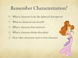 writing a character analysis essay example meg from hercules  remember characterization what a character looks like physical description what an character says