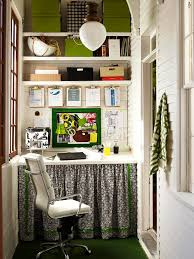 shelves alcove office