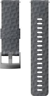 <b>Ремешок Suunto 24 Exp1</b> Silicone Strap Graphite/Gray M