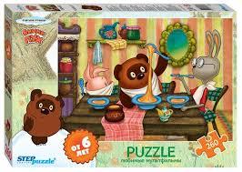 Купить <b>Пазл Step</b> puzzle Союзмультфильм Винни Пух (74061 ...