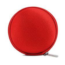 Red Earphone, Headphone <b>Protective</b> Hard <b>Case</b>, Storage Box ...