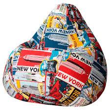 <b>Кресло</b>-<b>мешок DreamBag New York</b> II – купить в Юлмарт Сливы