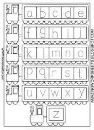 Worksheets, Letters and Letter tracing on PinterestAlphabet Worksheets for Kindergarten A-Z | Worksheetfun - FREE PRINTABLE WORKSHEETS