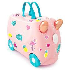 Купить чемодан <b>Trunki</b> на колесиках <b>Фламинго Флосси</b> 0353 ...