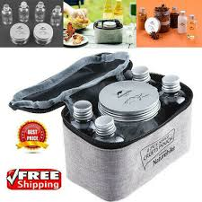 <b>7PCS</b> Seasoning Spice <b>Box Jar</b> Condiment Dispenser Container ...