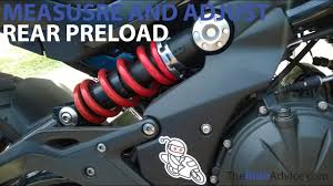 How to Measure and Adjust Rear <b>Preload</b> - Adjust Motorcycle ...
