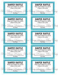 printable raffle ticket template com printable diaper raffle tickets new calendar template site m53lkpqs