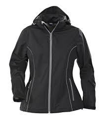 <b>Куртка софтшелл женская HANG</b> GLIDING, черная (артикул ...