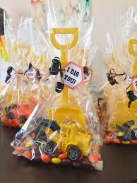 Construction Birthday Party Decorations Party Favors For A Construction Themed Birthday Party Reeses