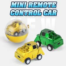 <b>2.4G Wireless Remote Control Mini</b> Toy Car Ball Portable Race Car ...