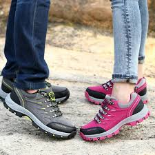 Waterproof Men's Hiking <b>Shoes Outdoor</b> Climbing Breathable ...