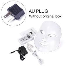 <b>7 Colors Led Facial</b> Beauty Skin Care Wrinkle Acne Removal Face ...