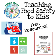 fun ways to teach food safety videos dr who and student teaching food safety to kids a printable booklet