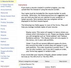 resume  jpgcreate resume sections  wizard categories and pages