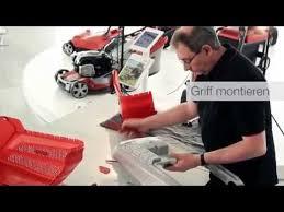 Сборка газонокосилки бензиновой AL-KO серия Highline - YouTube