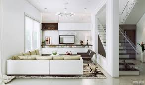 the light and airy living room boasts a wall of white and grey striated marble for white living room beautiful white living room
